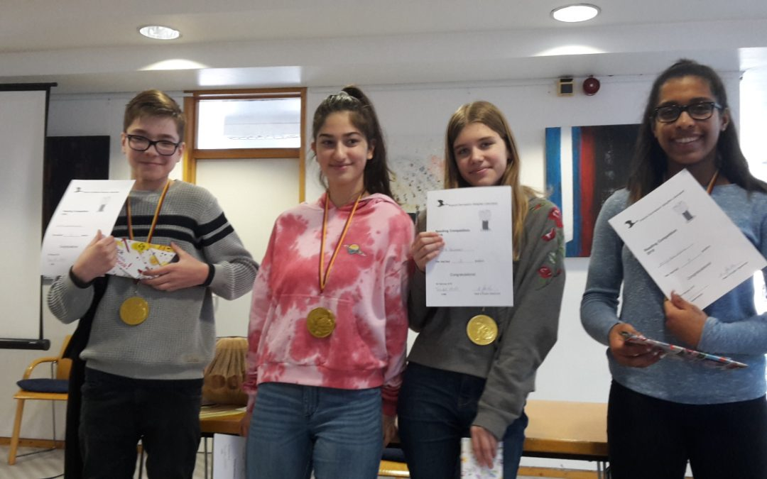 Reading Competition 2018