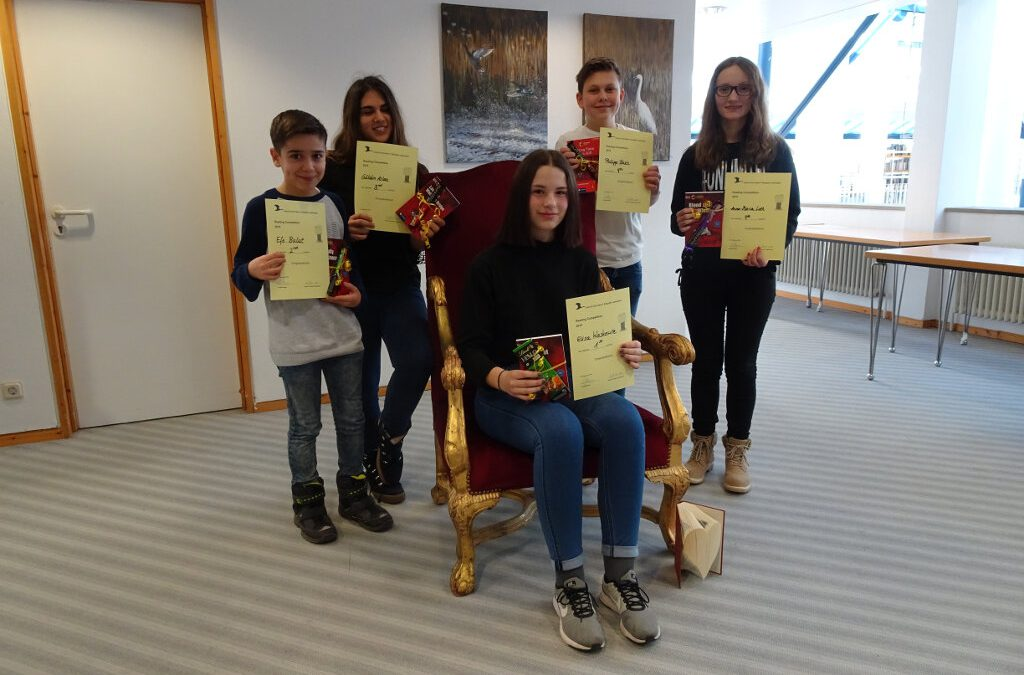 Reading Competition 2019
